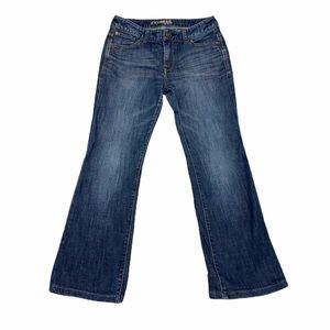 Express Mia Bootcut Jeans Dark Wash Size 4 Short